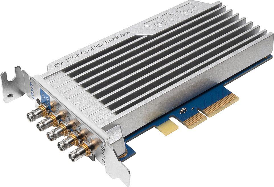 DTA-2174B-用于PCIe的四路3G-SDI / ASI端口(1x12G)