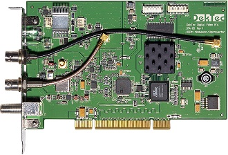 DTA-115 - Multi-standard cable/terrestrial modulator for PCI