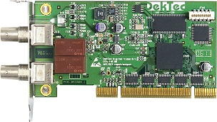 DTA-145 - ASI/SD-SDI input+output for PCI