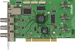 DTA-160 - GigE and 3x ASI input/output for PCI