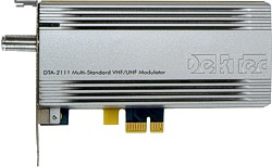 DTA-2111 - Multi-standard cable/terrestrial modulator for PCIe