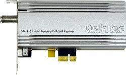 DTA-2131 - Multi-standard VHF/UHF receiver for PCIe