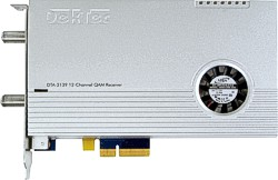 DTA-2139 - Twelve-channel QAM receiver for PCIe