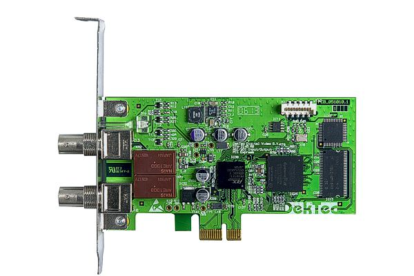 DTA-2145 - ASI/SD-SDI input+output with relay bypass for PCIe