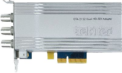 DTA-2152 - Dual HD-SDI/ASI ports for PCIe