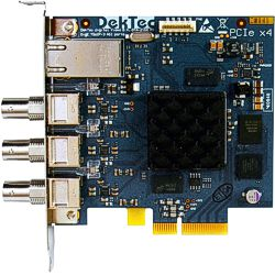 DTA-2160 - GigE and 3x ASI input/output ports for PCIe