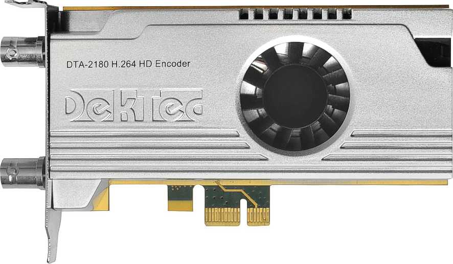 HD H.264 encoder for PCI Express bus