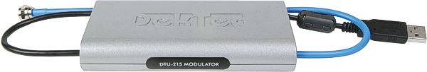 DTU-215 - Cable/terrestrial modulator for USB-2