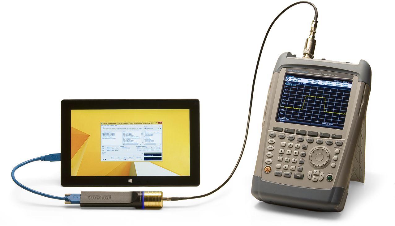 DTU-315 avec une tablette